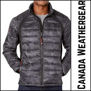 🆕️ CANADA WEATHERGEAR Camo Puffer Jacket!